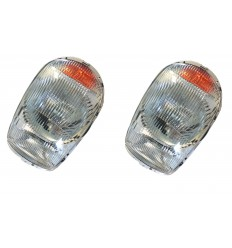 2 Headlights - EU - RHD - W113 - 1138200461