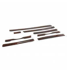 Burl Wood Interior Dash Strip Set - RHD Only - SL 107