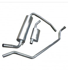 Complete Stainless Steel Exhaust Line - 190SL W121