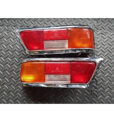 OEM NOS Rücklichtglas Links und Rechts Kompleet - 280SL - 1138200164 - 1138200264