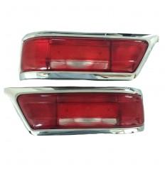Rücklichtglas Links und Rechts - Früh Model - 250 SL - 280 SL - 1138201564 - 1138201664