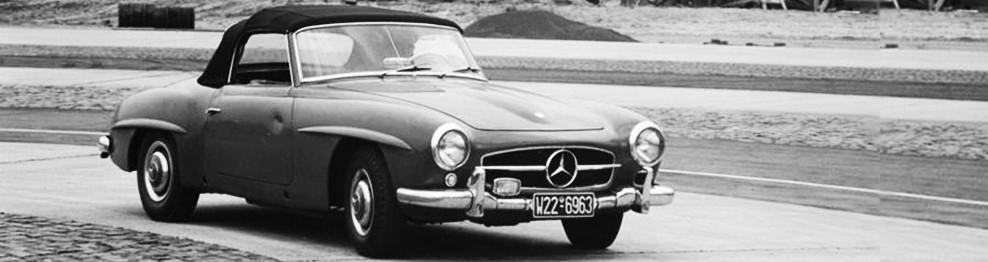 Blechteile 190SL W121 - Classic Mercedes Parts